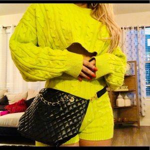 Chanel Precision line cosmetic bag